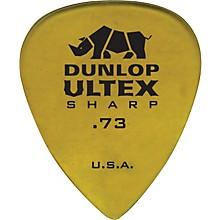 Dunlop Ultex Sharp Picks - 6 Pack 0.73 mm
