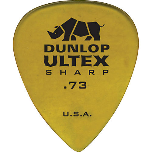 Dunlop Ultex Sharp Picks - 6 Pack 0.73 mm