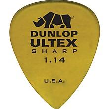 Dunlop Ultex Sharp Picks - 6 Pack 1.14 mm
