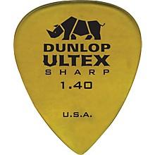 Dunlop Ultex Sharp Picks - 6 Pack 1.4 mm
