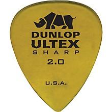 Dunlop Ultex Sharp Picks - 6 Pack 2.0 mm