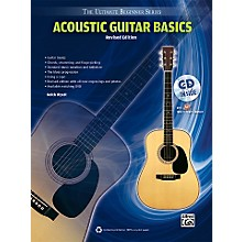 Alfred Ultimate Beginner Acoustic Guitar Basics (Revised Edition) Book & CD