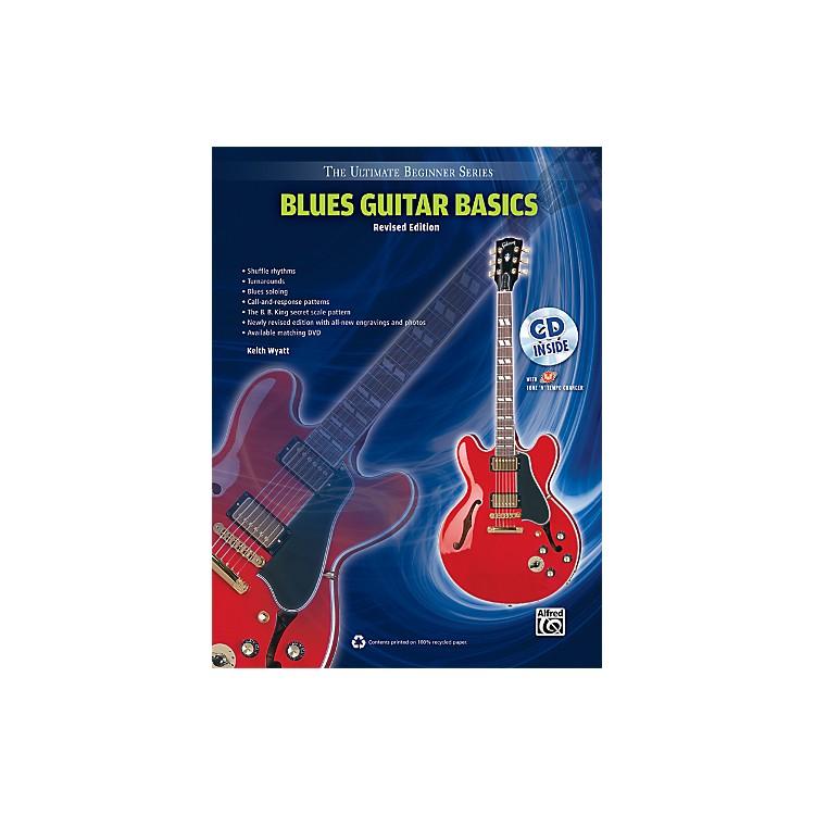 AlfredUltimate Beginner Blues Guitar Basics (Revised Edition) Book & CD