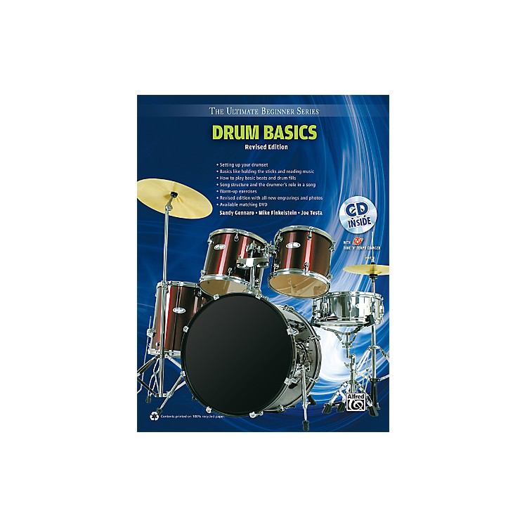 AlfredUltimate Beginner Drum Basics (Revised Edition) Book & CD