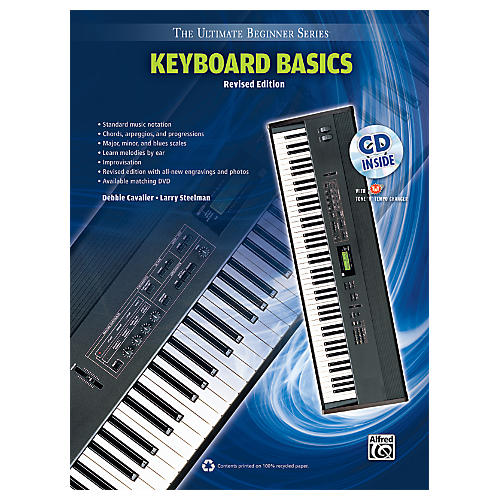 Alfred Ultimate Beginner Keyboard Basics (Revised Edition) Book & CD-thumbnail
