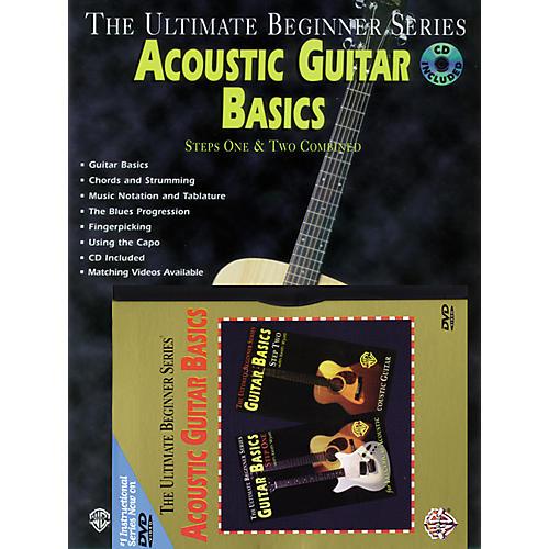 Alfred Ultimate Beginner Mega Pak: Acoustic Guitar Basics Book/CD/DVD