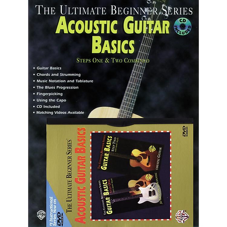 AlfredUltimate Beginner Mega Pak: Acoustic Guitar Basics Book/CD/DVD
