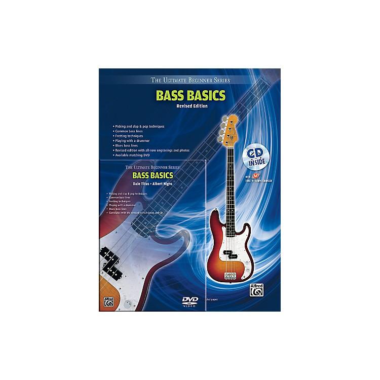 AlfredUltimate Beginner Mega Pak Bass Basics (Revised Ed.) Book, CD & DVD