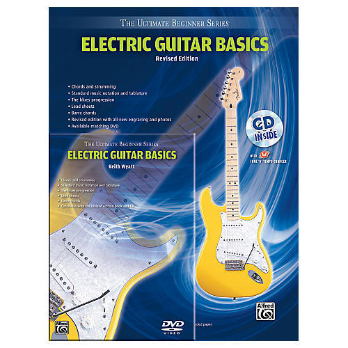 alfred ultimate beginner mega pak electric guitar basics rev ed book cd dvd musician 39 s. Black Bedroom Furniture Sets. Home Design Ideas