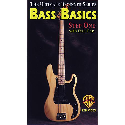 Alfred Ultimate Beginner Series - Bass Basics, Step 1