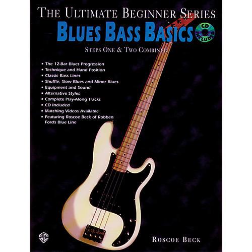 Alfred Ultimate Beginner Series - Blues Bass Basics Book/CD