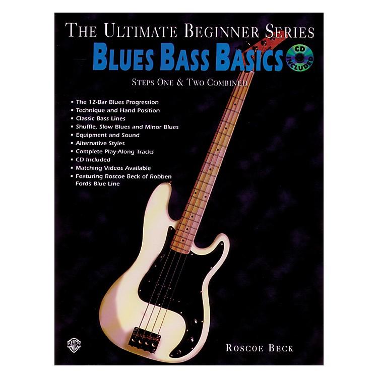 AlfredUltimate Beginner Series - Blues Bass Basics Book/CD