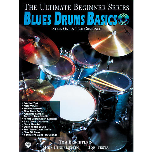 Alfred Ultimate Beginner Series - Blues Drums Basics (CD)-thumbnail