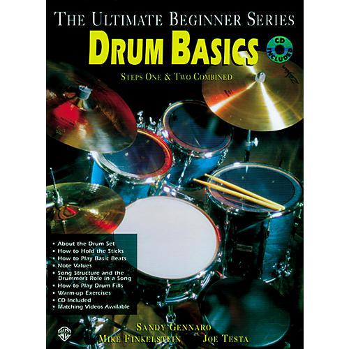 Alfred Ultimate Beginner Series - Drum Basics (Book/CD)-thumbnail