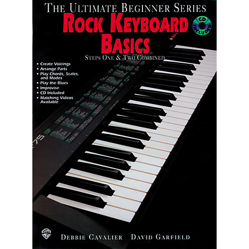 Alfred Ultimate Beginner Series - Rock Keyboard Basics (CD)-thumbnail