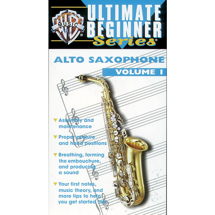 Alfred Ultimate Beginner Series: Alto Saxophone, Volume I Video