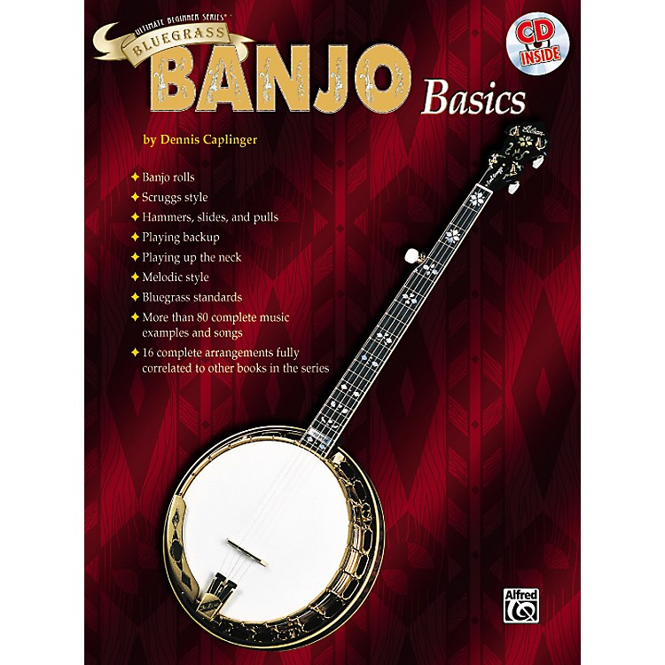 Alfred Ultimate Beginner Series Bluegrass Banjo Basics Book & CD