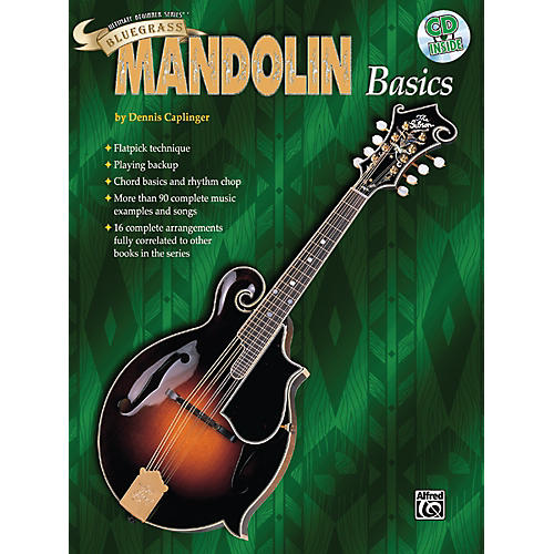 Alfred Ultimate Beginner Series Bluegrass Mandolin Basics Book & CD
