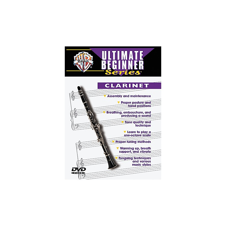 Warner Bros Ultimate Beginner Series Clarinet (DVD)