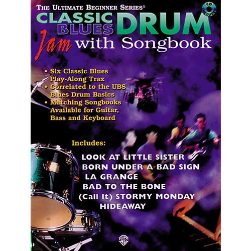 Alfred Ultimate Beginner Series Drum Songbook - Classic Blues (CD)-thumbnail