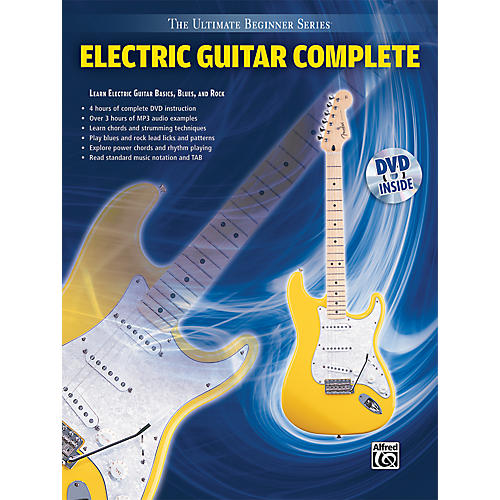 alfred ultimate beginner series electric guitar complete book dvd musician 39 s friend. Black Bedroom Furniture Sets. Home Design Ideas