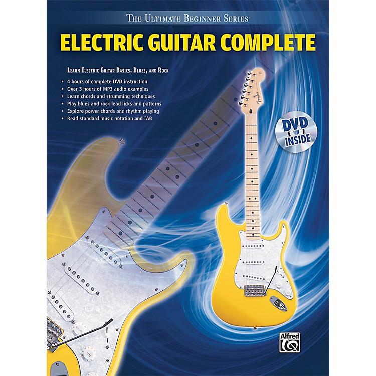alfred ultimate beginner series electric guitar complete book dvd musician 39 s friend. Black Bedroom Furniture Sets. Home Design Ideas