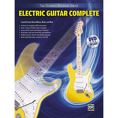 Alfred Ultimate Beginner Series Electric Guitar Complete Book & DVD