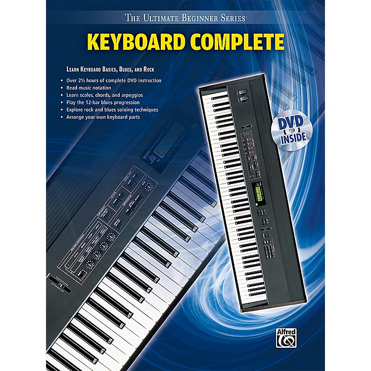 Alfred Ultimate Beginner Series: Keyboard Complete (Book/DVD)