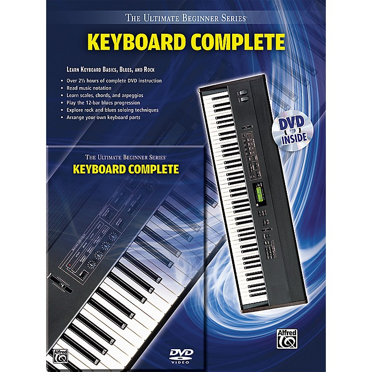 Alfred Ultimate Beginner Series Keyboard Complete Book & DVD