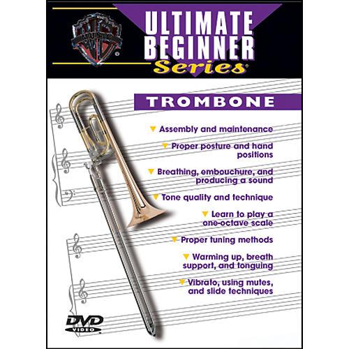 Alfred Ultimate Beginner Series: Trombone Volumes I & II DVD