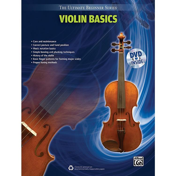 AlfredUltimate Beginner Series Violin Basics Book & DVD