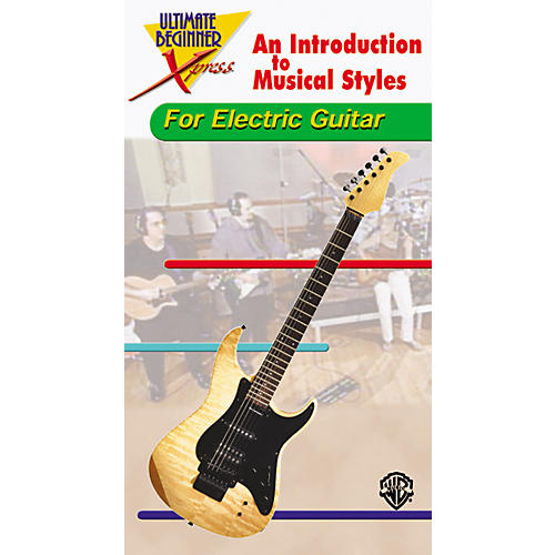 Alfred Ultimate Beginner Xpress - Electric Guitar Styles-thumbnail