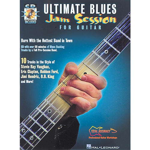 Hal Leonard Ultimate Blues Jam Session for Guitar Book with CD-thumbnail