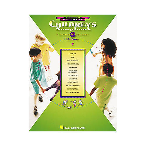 Hal Leonard Ultimate Children's Piano/Vocal/Guitar Songbook