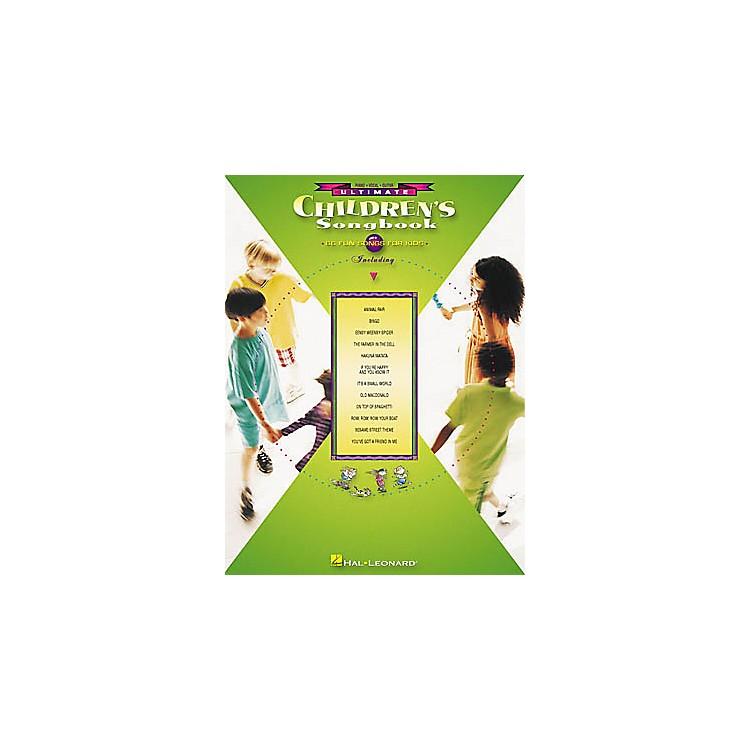 Hal LeonardUltimate Children's Piano/Vocal/Guitar Songbook