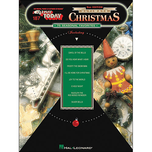 Hal Leonard Ultimate Christmas 75 Seasonal Favorites 2nd Edition E-Z Play 187-thumbnail