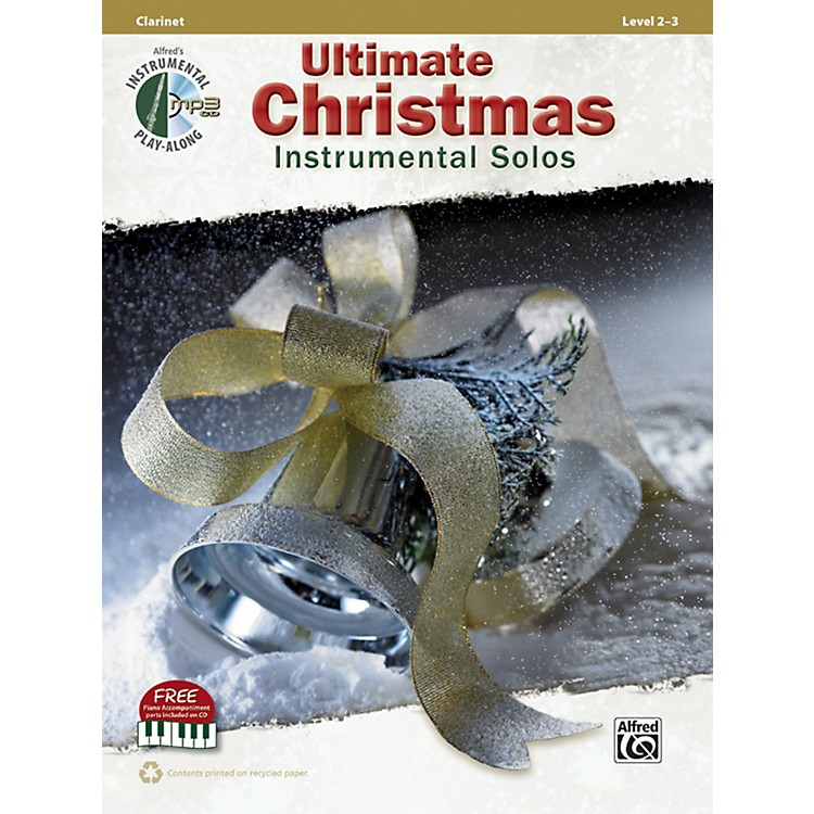 AlfredUltimate Christmas Instrumental Solos Clarinet Book & CD