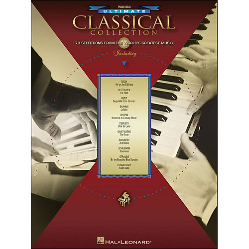 Hal Leonard Ultimate Classical Collection Piano Solo