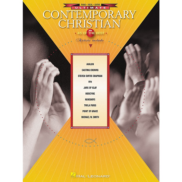 Hal Leonard Ultimate Contemporary Christian Piano, Vocal, Guitar Songbook