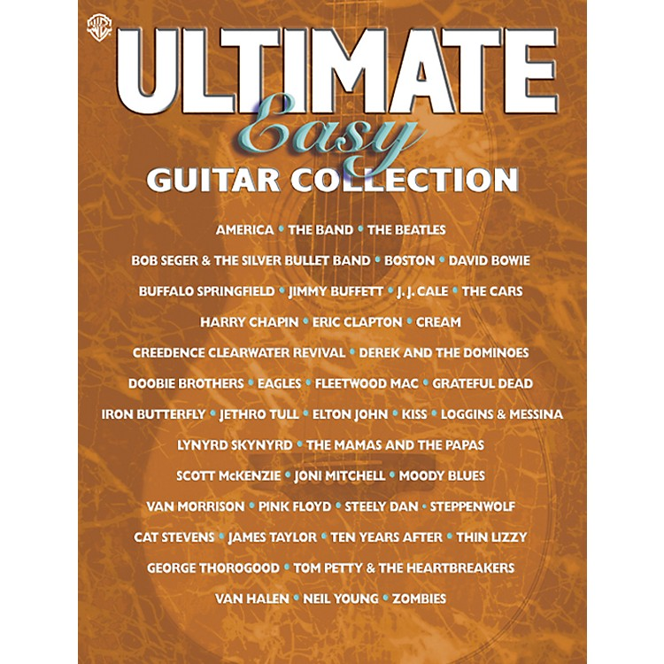 Alfred Ultimate Easy Guitar Collection Easy Guitar