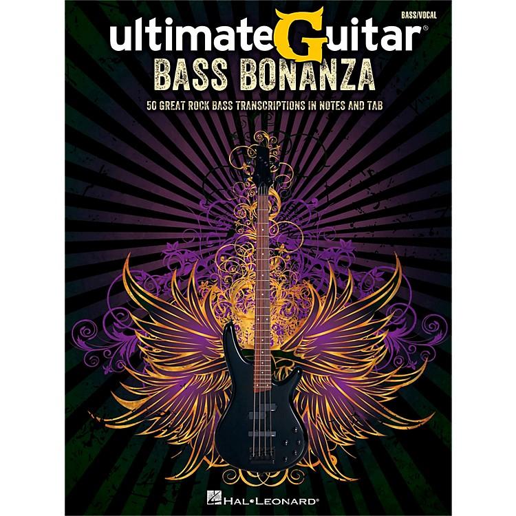 Hal LeonardUltimate Guitar Bass Bonanza Bass Tab Songbook