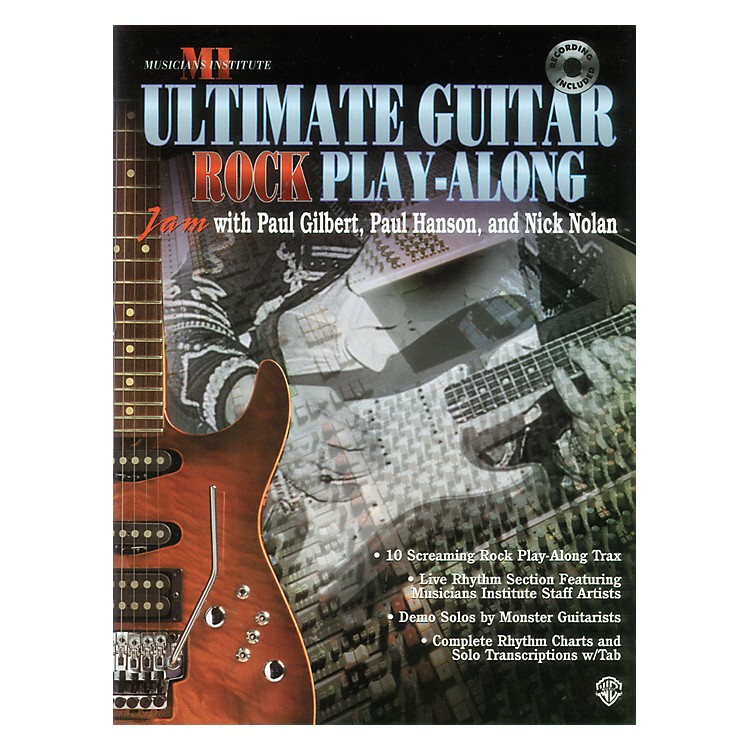 Alfred Ultimate Guitar Play-Along (CD)