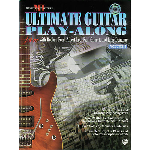 Alfred Ultimate Guitar Play-Along, Volume 2 (CD)