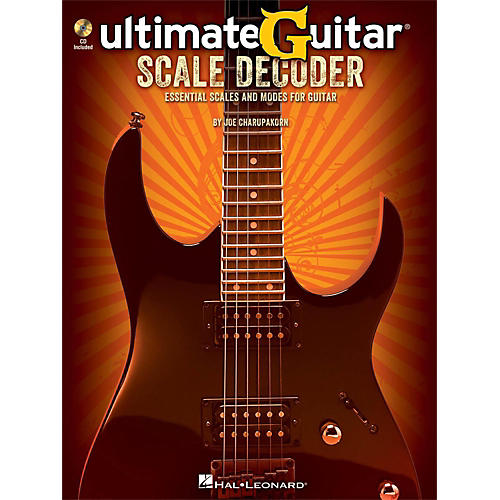 Hal Leonard Ultimate-Guitar Scale Decoder Book/CD