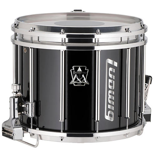 ludwig ultimate marching snare drum 14 x 12 in black musician 39 s friend. Black Bedroom Furniture Sets. Home Design Ideas