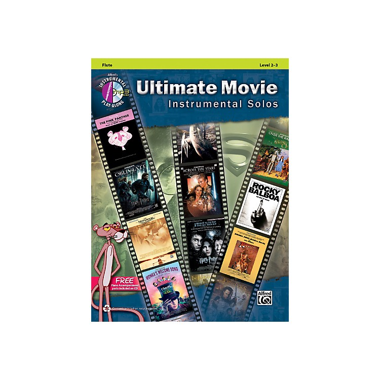 AlfredUltimate Movie Instrumental Solos for Flute (Book/CD)