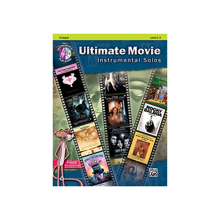 AlfredUltimate Movie Instrumental Solos for Trumpet Book & CD