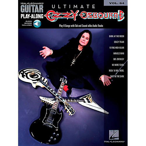 Hal Leonard Ultimate Ozzy Osbourne - Guitar Play-Along Series, Volume 64 (Book/CD)