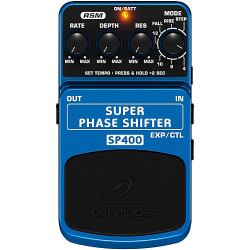 Behringer Ultimate Phase Shifter Guitar Effects Pedal-thumbnail
