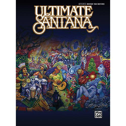 Alfred Ultimate Santana Guitar Tab Book